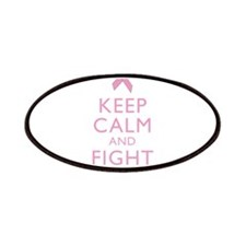 Keep Calm Breast Cancer Support Awareness Patches