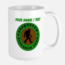 Custom Sasquatch Research Team Mugs
