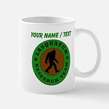 Custom Sasquatch Research Team Mugs