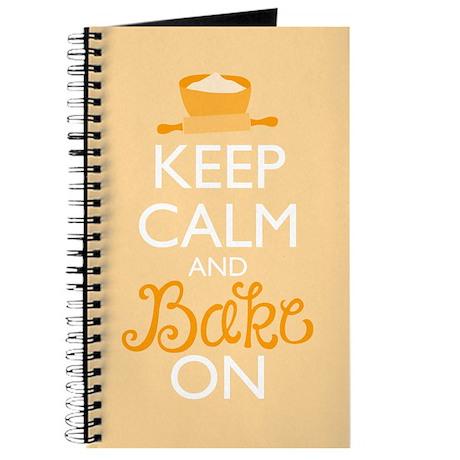 Keep Calm and Bake On Journal
