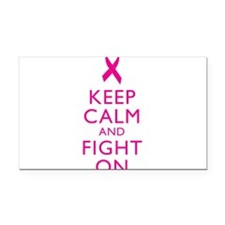 Keep Calm Breast Cancer Support Awareness Rectangl