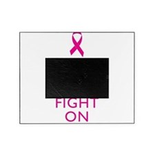 Keep Calm Breast Cancer Support Awareness Picture Frame