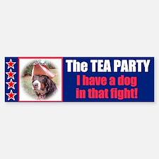 Dog in Fight Bumper Bumper Sticker