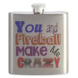 Fireball Flask Bottles