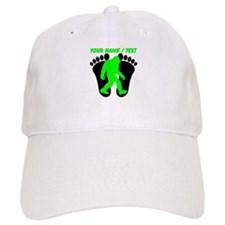 Custom Bigfoot Footprint Baseball Baseball Cap