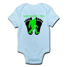 Custom Bigfoot Footprint Body Suit
