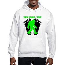 Custom Bigfoot Footprint Hoodie