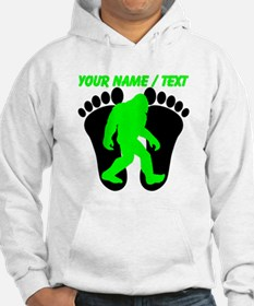 Custom Bigfoot Footprint Hoodie
