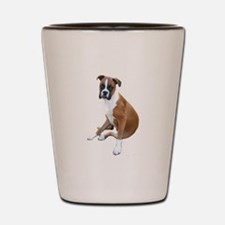 Boxer #6 (fawn) Shot Glass