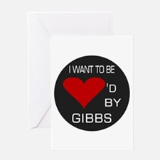 Loved By Gibbs Greeting Card