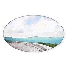 View from Mt. Mitchell Decal