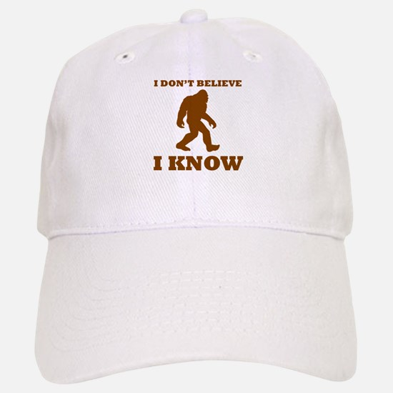 Bigfoot I Know Baseball Baseball Baseball Cap