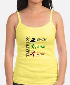 Triathlon icons Tank Top