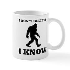 Bigfoot I Know Mugs