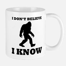 Bigfoot I Know Mugs