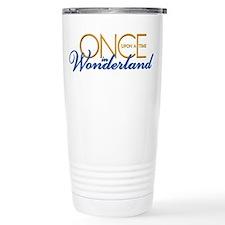 Once Upon a Time in Wonderland Travel Mug