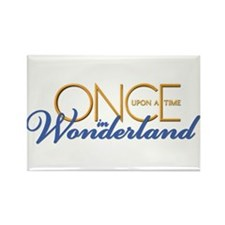 Once Upon a Time in Wonderland Rectangle Magnet