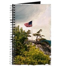 Flag Over Chimney Rock Journal