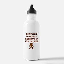 Bigfoot Doesnt Believe In You Water Bottle