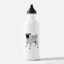 Cute pug Water Bottle