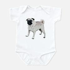 Cute pug Infant Bodysuit