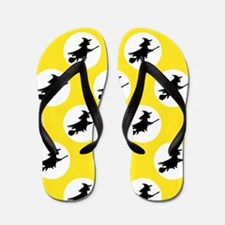 'Witches' Flip Flops