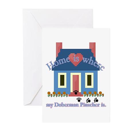 Doberman Pinscher Greeting Cards (Pk of 10)