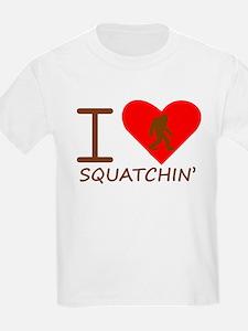 I Heart Squatchin T-Shirt
