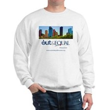 Out Equal Houston Cityscape Sweatshirt