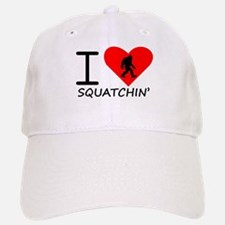 I Heart Squatchin Baseball Baseball Baseball Cap