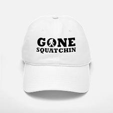 Gone Squatchin Baseball Baseball Baseball Cap