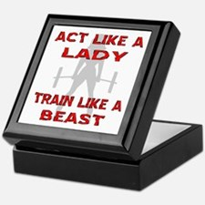 Train Like A Beast Keepsake Box