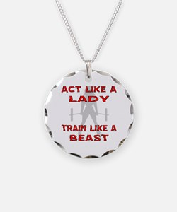 Train Like A Beast Necklace