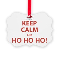 Keep Calm and Ho Ho Ho Ornament