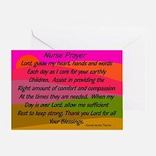 Nurse Prayer Blanket 2 Greeting Cards