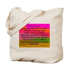 Nurse Prayer Blanket 2 Tote Bag