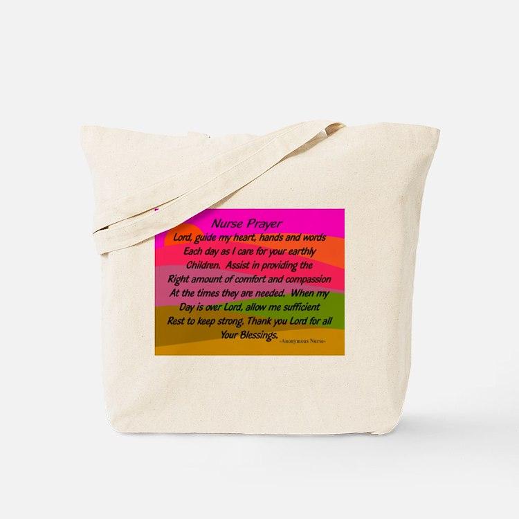 Nurse Prayer Blanket 2 Tote Bag