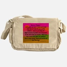 Nurse Prayer Blanket 2 Messenger Bag