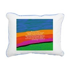 Nurse Prayer Pillow Rectangular Canvas Pillow