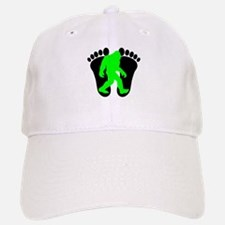 Neon Green Bigfoot Baseball Baseball Baseball Cap