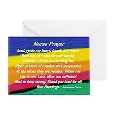 Nurse Prayer Bag Greeting Cards