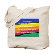 Nurse Prayer Bag Tote Bag