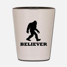 Bigfoot Believer Shot Glass