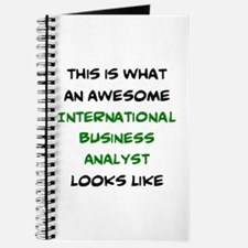 awesome international business analyst Journal