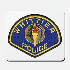 Whittier Police Mousepad