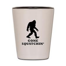 Gone Squatchin Shot Glass