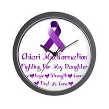 fighting For My daughter Wall Clock