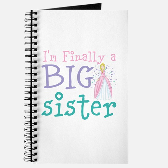 I'm finally a big Sister Journal