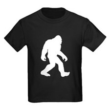 White Bigfoot Silhouette T-Shirt
