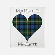 Heart - MacLaren Throw Blanket